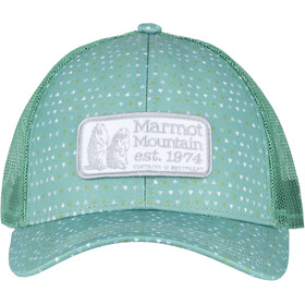 Marmot Angles Trucker pond green